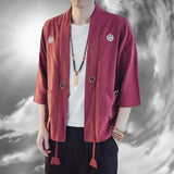 Awesome Anime Warrior Linen Kimonos
