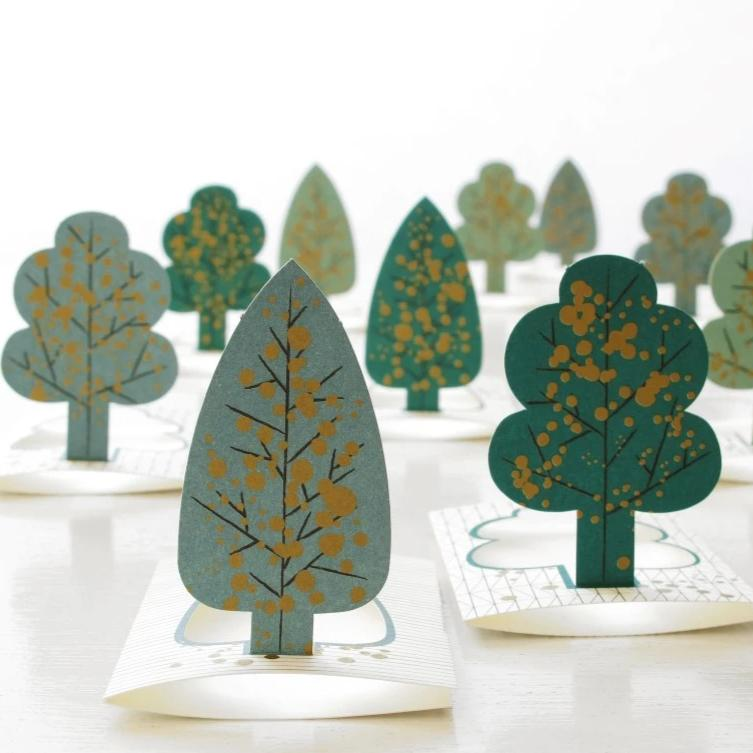 ART GIFT | Forest mini cards