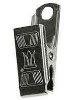 2014 (#1114) Stainless Steel Badge Clip