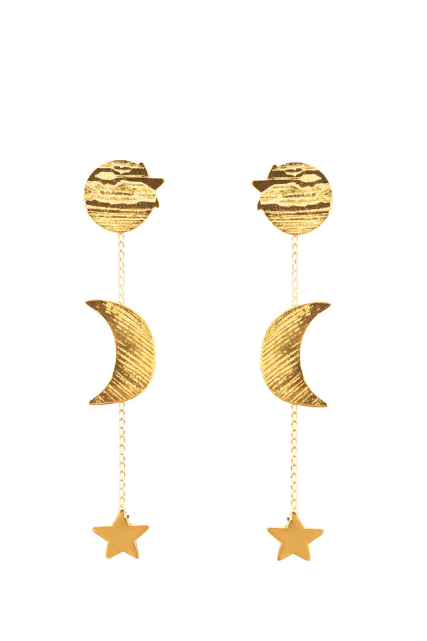 Camino a Luna Earrings