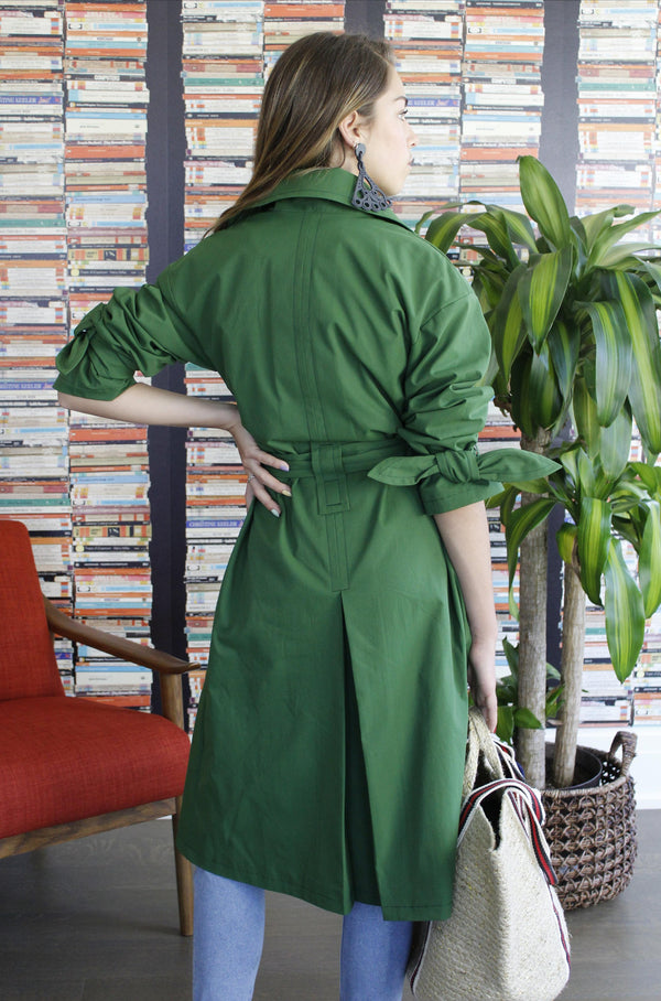 Trench Coat Green