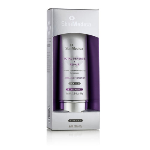 SkinMedica TINTED Total Defense + Repair Broad Spectrum Sunscreen SPF 34-Christopher Jones MD PC