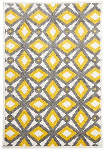 Marquee Indoor Outdoor 302 Yellow Rug