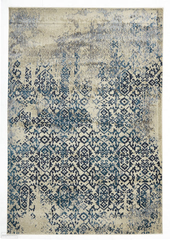 Ruby Collection 340 Blue Rug