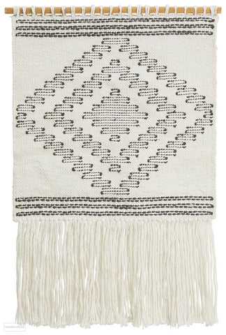 Rug Culture Home 426 White Wall Hanging - Wall Hangings