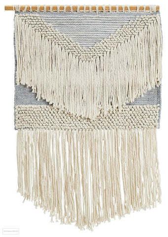 Rug Culture Home 428 Grey Wall Hanging - Wall Hangings