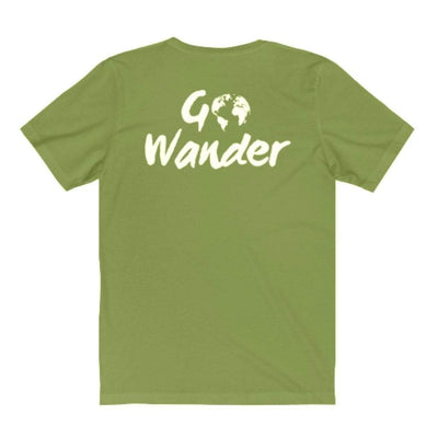 EvolveTravelGoods XS / Jungle Go Wander Classic Fit Organic Tee