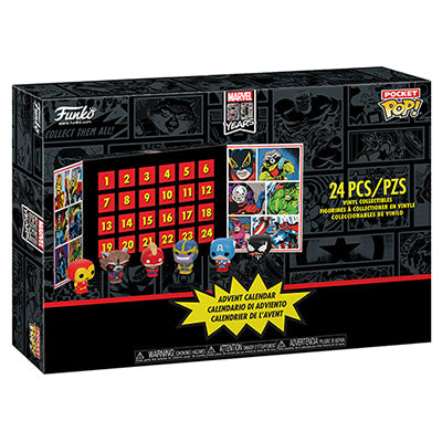 PRE-ORDER - 11/2019 Pocket POP! Advent Calendar: Marvel 24 pc