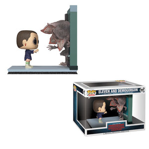 POP! TV: 727 Stranger Things, Movie Moment Eleven and Demogorgon