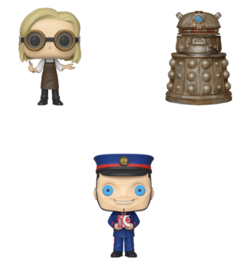 PRE-ORDER POP! TV: Doctor Who Bundle of 3