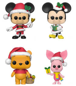 PRE-ORDER - 11/2019 POP! Disney:  Holiday Bundle of 4
