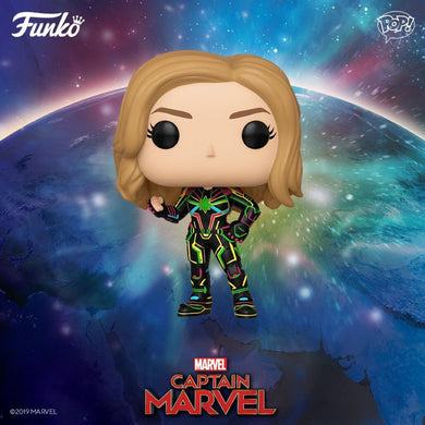 PRE-ORDER - POP! Marvel: Captain Marvel Neon Suit