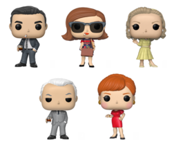 PRE-ORDER - POP! TV: Mad Men Bundle of 5