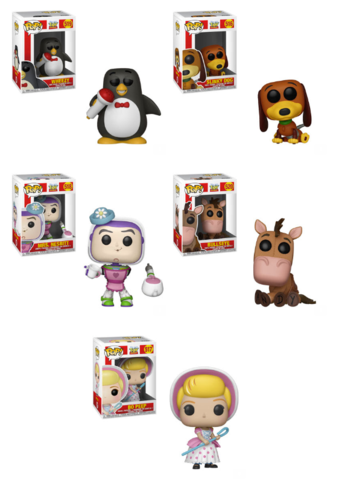 PRE-ORDER - 05/2019 POP! Disney: Toy Story Bundle of 5