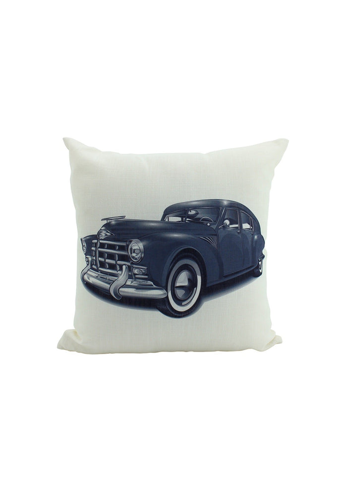 Car Cushion - Classic Car Print