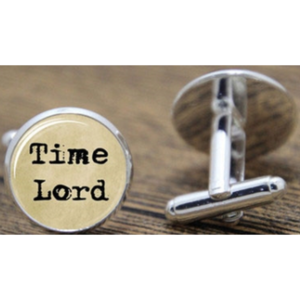Cufflinks - Doctor Who - Time Lord