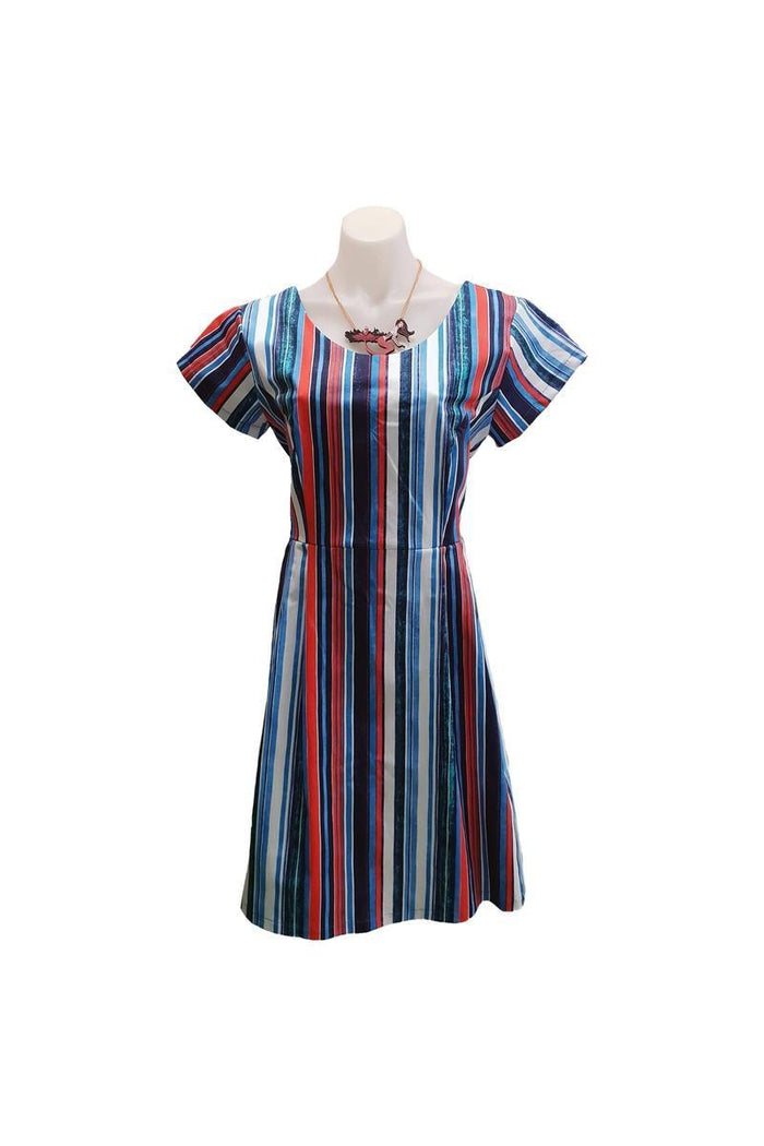 PR Original - Nautical Stripe Audrey Dress