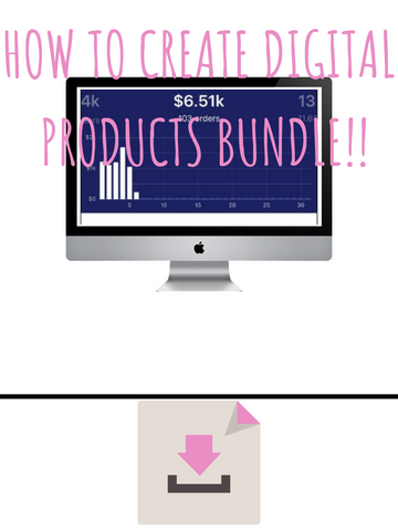 How To Create Digital Products Bundle