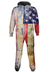 Tattered Flag Onesie