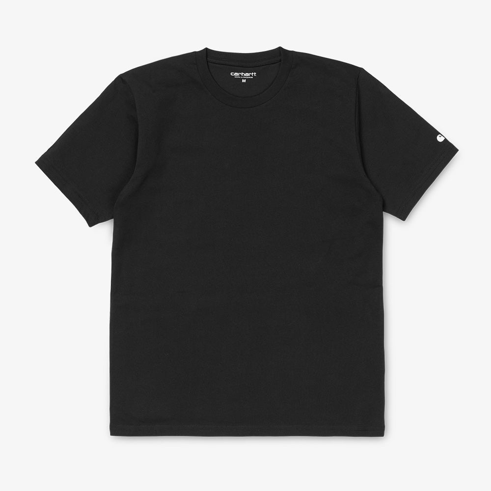 Carhartt WIP S/S Base Tee - Black / White 1