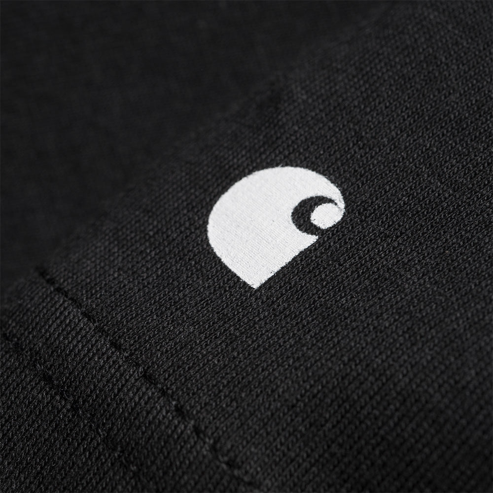 Carhartt WIP S/S Base Tee - Black / White 2