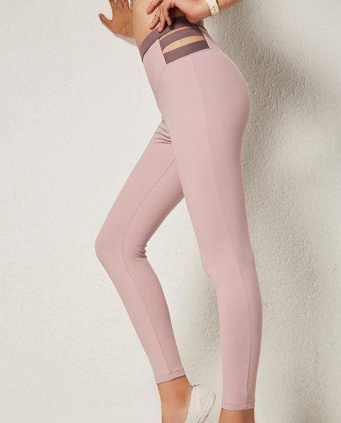 Perfect Shaping Leggings - pink / L
