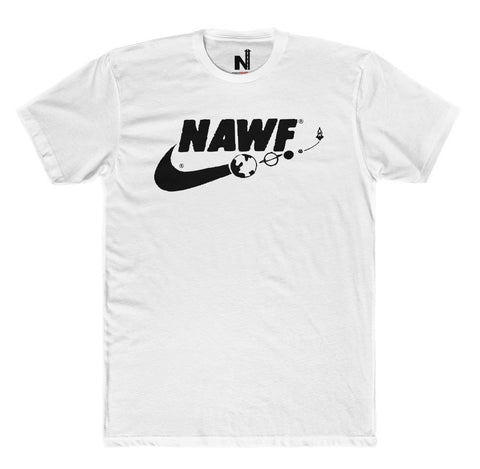 Original NAWF T-Shirt (White/Black) - ProjectNAWF