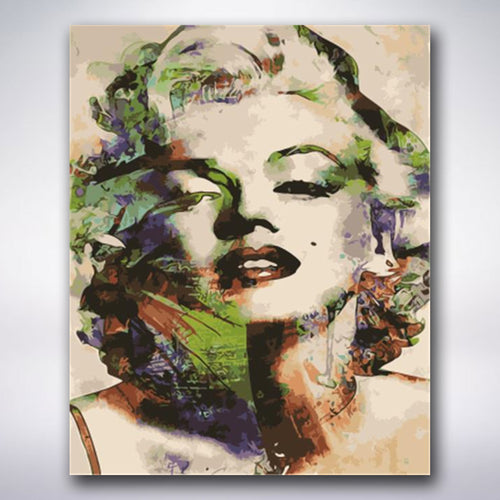 Abstract Marilyn Monroe - Paint by numbers