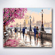 Load image into Gallery viewer, Cherry Blossom Road - Paint by number