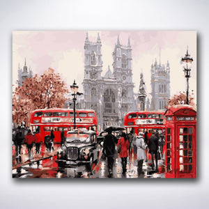Downtown London - Paint by number