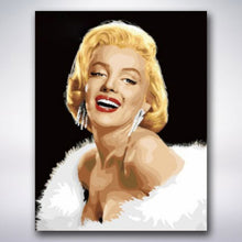 Load image into Gallery viewer, Marilyn Monroe - Paint by numbers