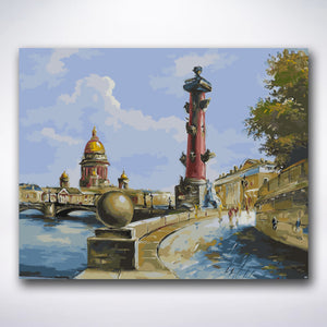 Saint-Petersburg - Paint by number