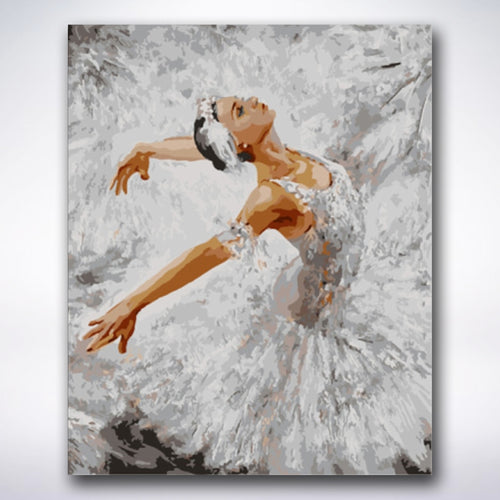Traditional Ballet Dancer - Paint by number