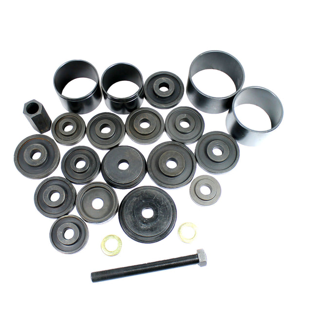Master 23PC Jumbo Bearing Race & Seal Driver Wheel Axle Disk Tool Set Bushing - Anyvolume.com