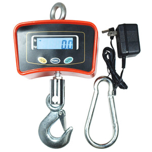 500 KG / 1100 LBS Digital Crane Scale Heavy Duty Industrial Hanging Scale - Anyvolume.com