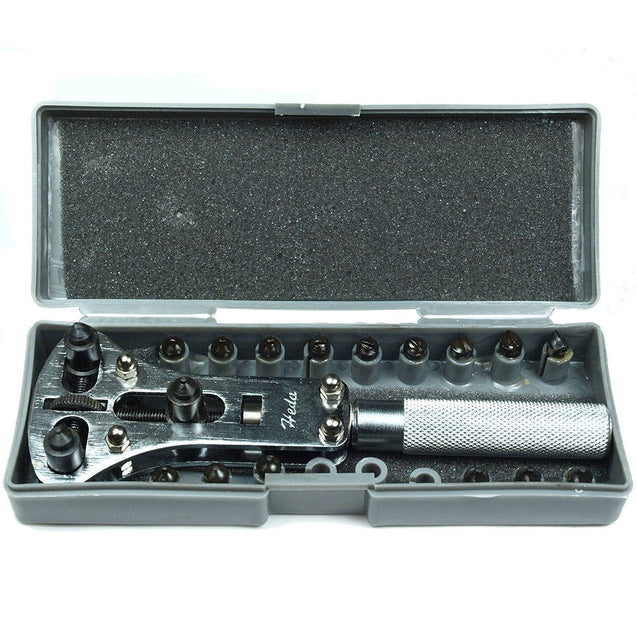 Watch Repair tool - Waterproof Screw Back Case Opener with 6 sets of clamps - Anyvolume.com