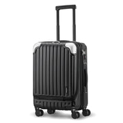 black carry-on luggage