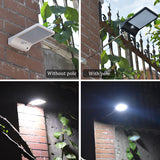 36 LED 3 Modes Outdoor Solar Lamp with Motion Detector