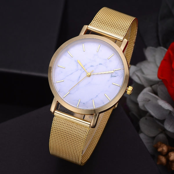 Marble LP163 Mesh Watch - ethereal-arscenic