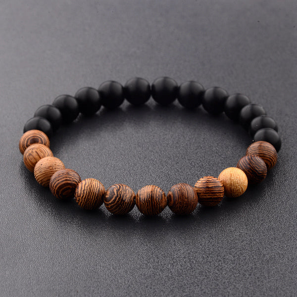 Natural Wood Bracelets - ethereal-arscenic