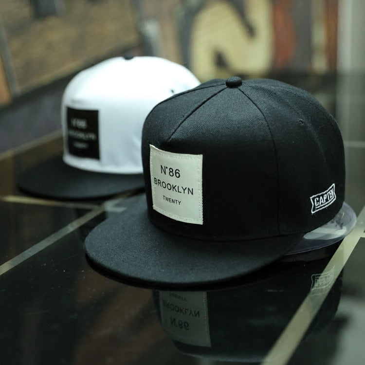 BROOKLYN Snapback Caps - ethereal-arscenic
