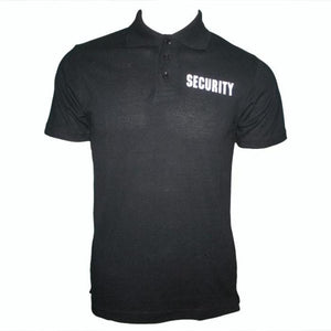 HUSS Security Printed Polo Shirt