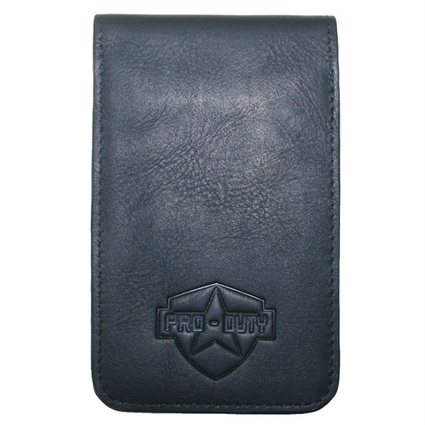 PRO-DUTY Plain Leather Notebook Cover