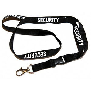 PRO-DUTY Security Printed Neck Lanyard
