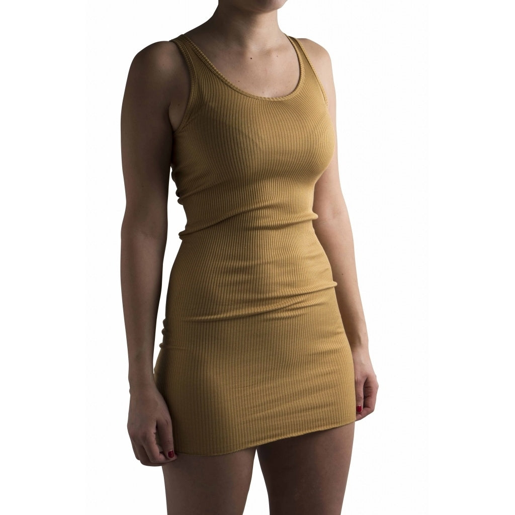 minimalisma Gry Dress Golden Leaf