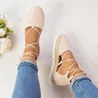 Fashion Flats Ankle Strap Sandals Bandage Shoes