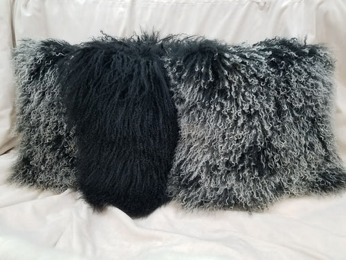 Tibetan Lamb Fur Pillows