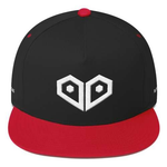Plurthlings Casual Logo Flat Bill Snapback Hat