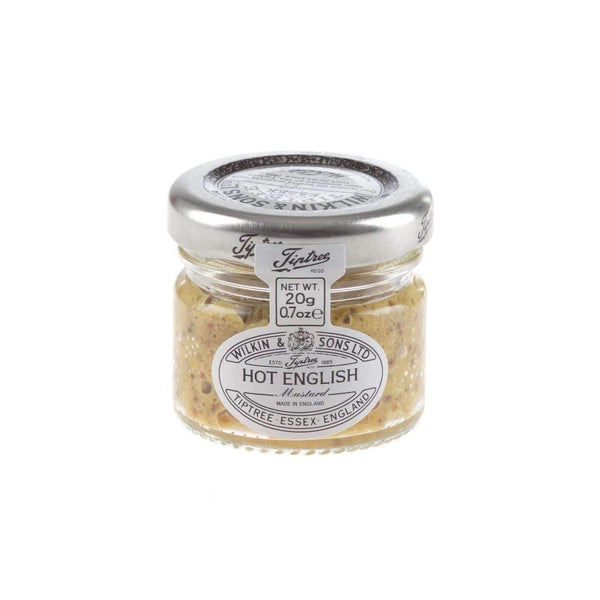 Just Miniatures:Wilkin & Sons Tiptree English Wholegrain Mustard Mini Jar - 20g