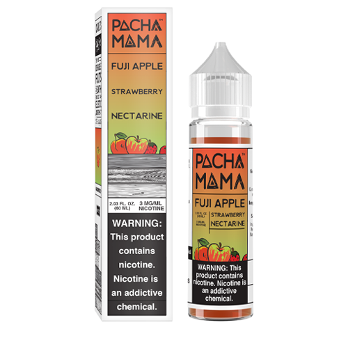 Fuji Apple Strawberry Nectarine by Pachamama 60ml